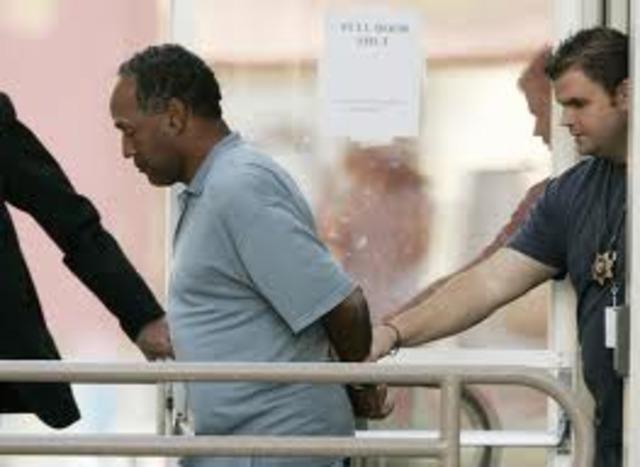 O.J. Arrested for Murder