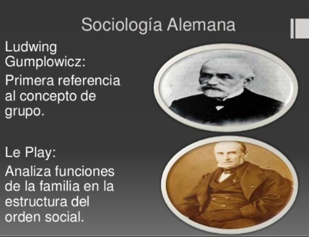 DESARROLLO DE LA SOCIOLOGIA ALEMANA