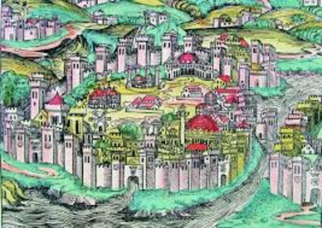 Θεμελίωση της Πόλης (Κωνσταντινούπολη)