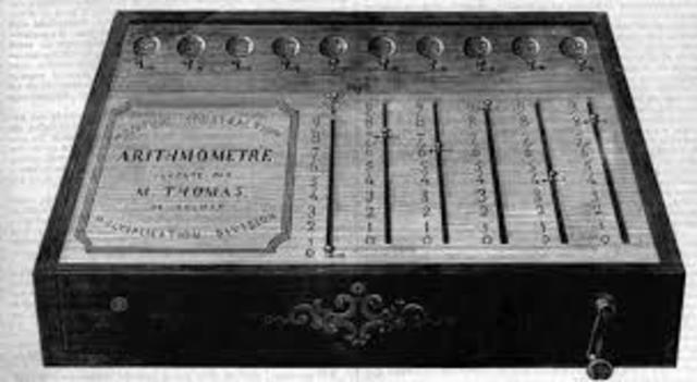 A Thomas-rendszerű számológépek