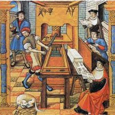 Книгопечатание в Европе timeline
