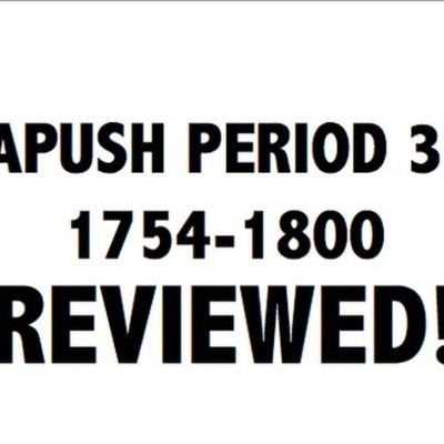 APUSH Period 3 timeline