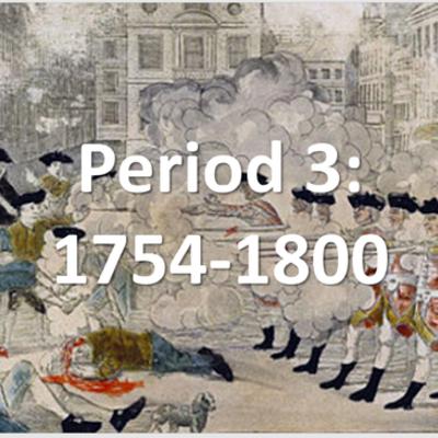 APUSH - Period 3 timeline