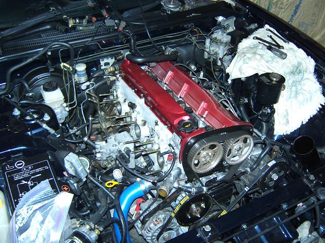 First successful engine rebuild