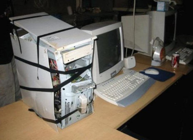 First successful computer rebuild