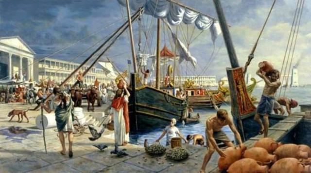 Comercio Romano