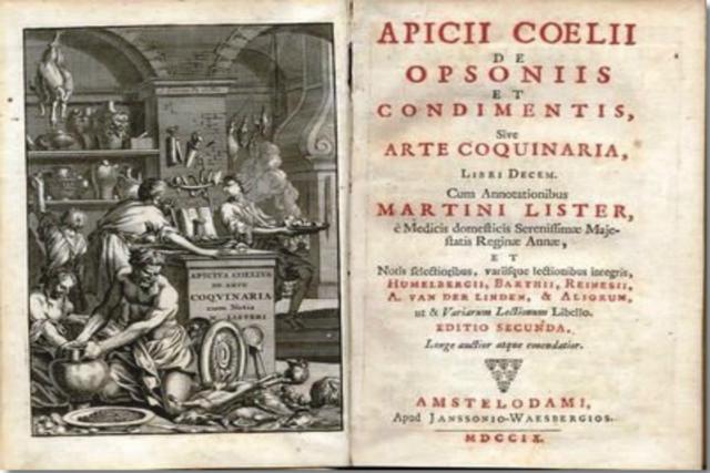 Recetario de Apicio