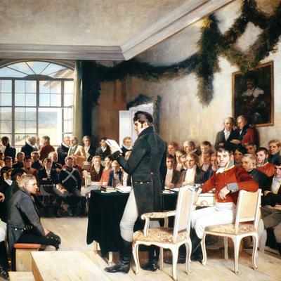 Norge 1814 timeline