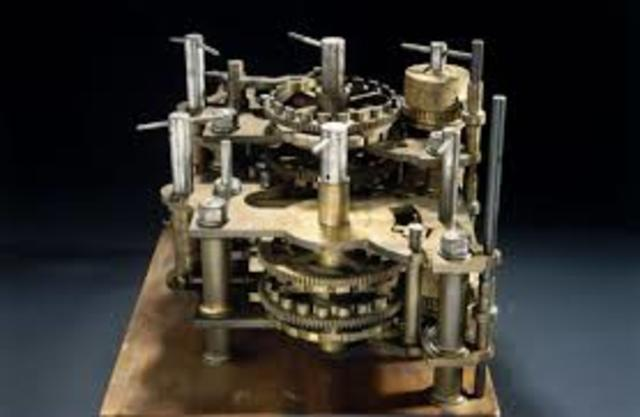 Charles Babbage differenciálgépe