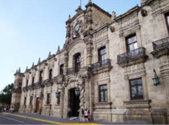 Toma del palacio de Guadalajara