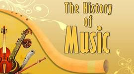HISTORY OF MUSIC timeline