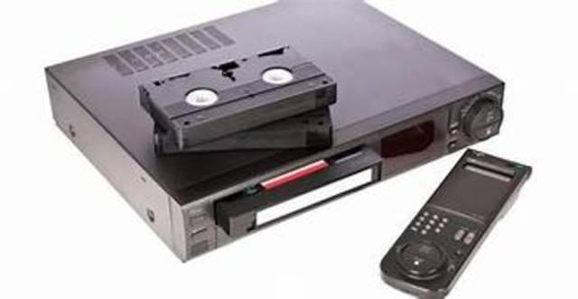 Betamax y VHS