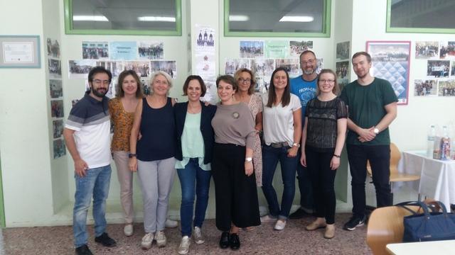 Συνάντηση καθηγητών του νέου Erasmus+ KA2 στην Αθήνα
