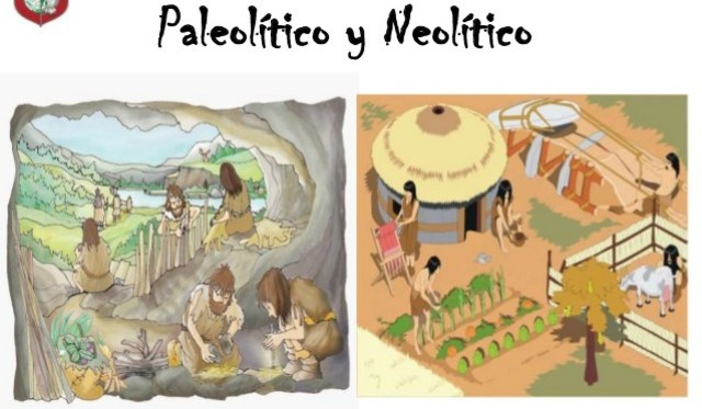 picture of paleolithic and neliolithic