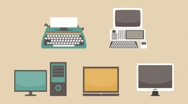 Evolución de los ordenadores timeline