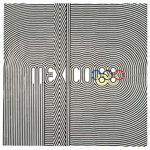 Poster de las Olimpiadas en México