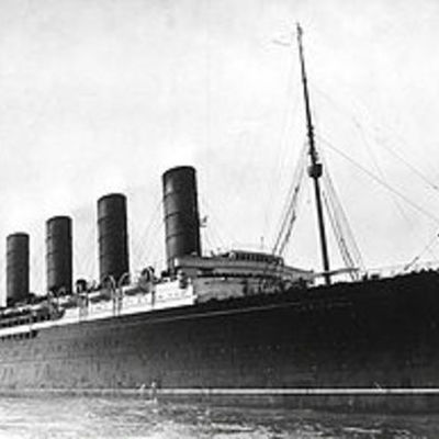 Important Events From the Lusitania timeline