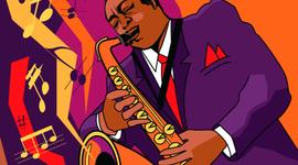 L' evolució del jazz timeline