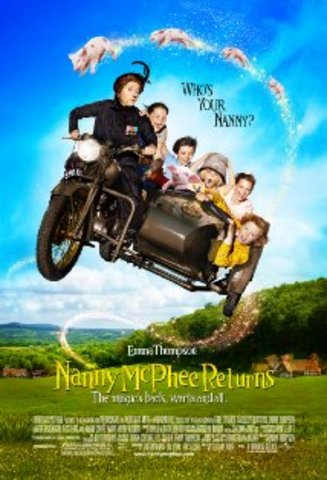 Me and Kenny and my aunt T.T went to go nanny mcphee  returns