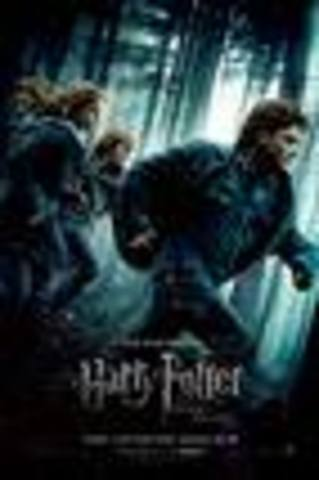 Me Kayla  an here friend  and my aunt and uncle  an Kenny  we went to go see harry potter