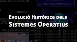 Evolució Històrica dels Sistemes Operatius timeline