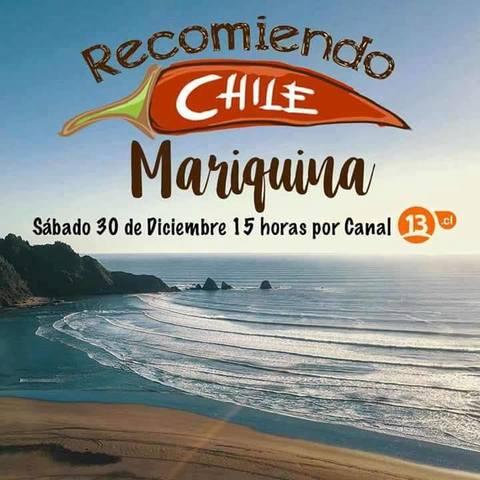 """Programa """"Recomiendo Chile"""" en San José de la Mariquina y alrededores"""
