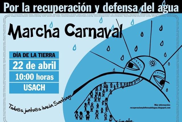 Marcha Carnaval por la recuperación y defensa del agua