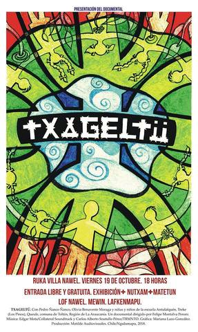 Exhibición de documental TXAGELTÜ en Villa Nahuel