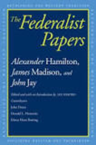 The Federalist Papers published