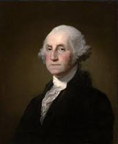Election of George Washington