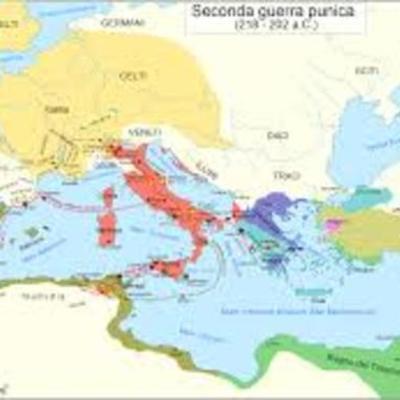 Le guerre di espansione di Roma nel Mediterraneo timeline