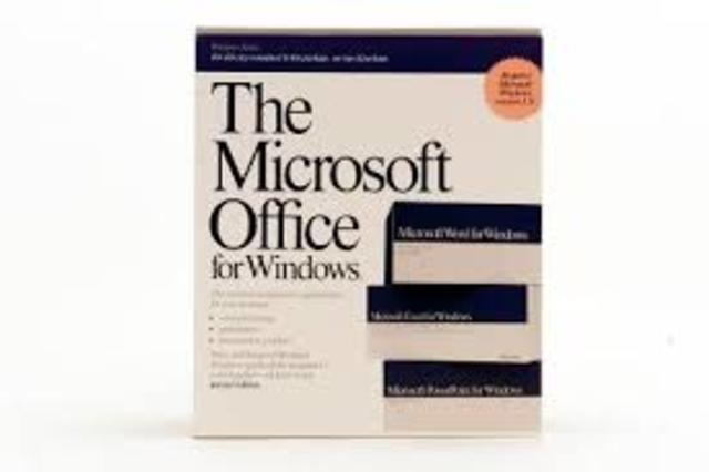 Microsoft Office Version 1.0