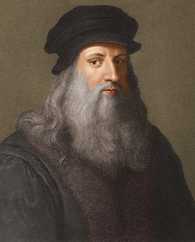 Leonardo Da Vinci dør