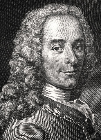 Francois de Voltaire dør