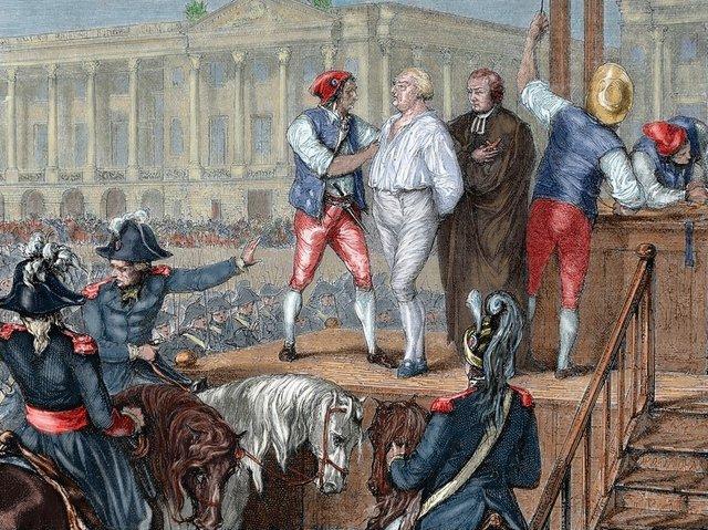 Execution of King Louis XVl