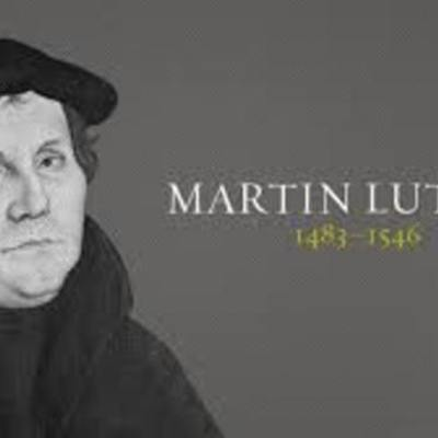 The Life of Martin Luther timeline