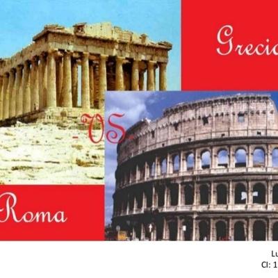Grécia i Roma timeline