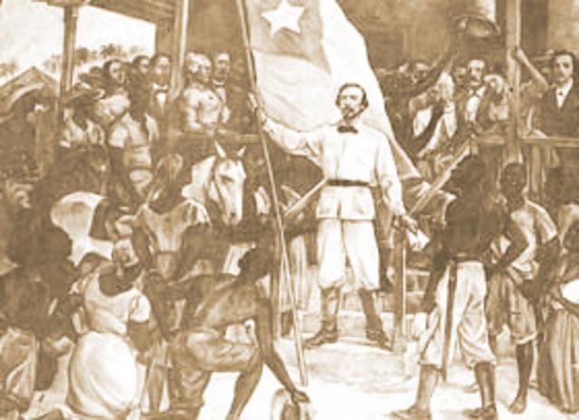 Cuba Gains Independance