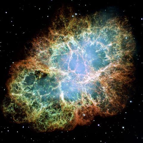 Aparece la nebulosa del cangrejo