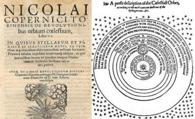 Se publica la obra de Copernico