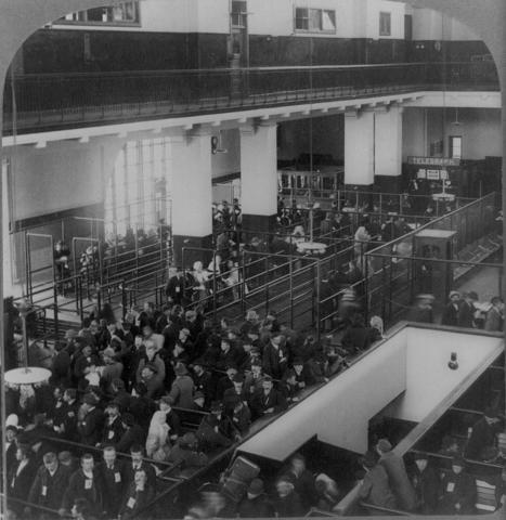 The Opening of Ellis Island