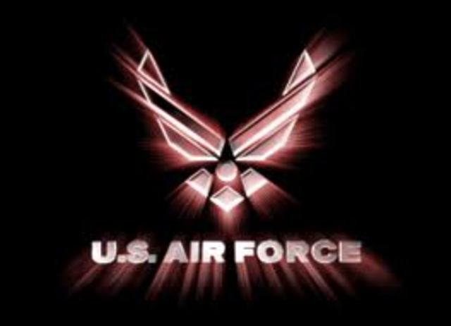 Joined the Air Force