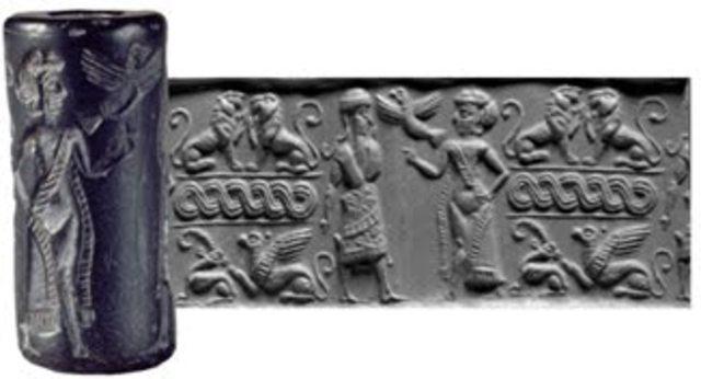Los cilindros - sellos 1000 A.C.