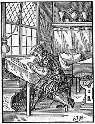 El primer grabado siglo XVI