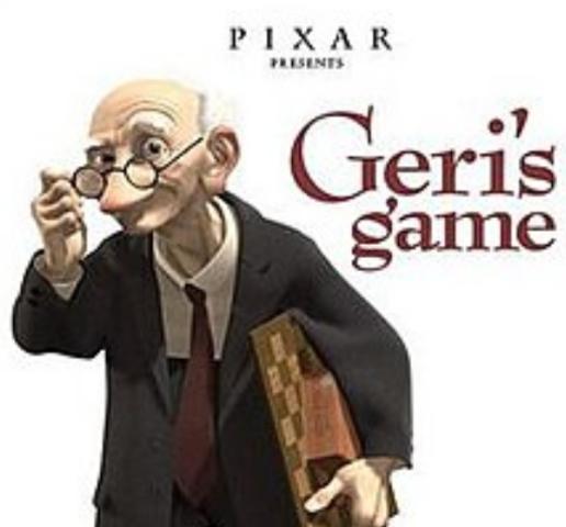 Oscar-winning Geri's Game Released