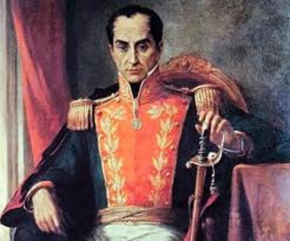 Simón Bolívar - Normativa de la Gran Colombia