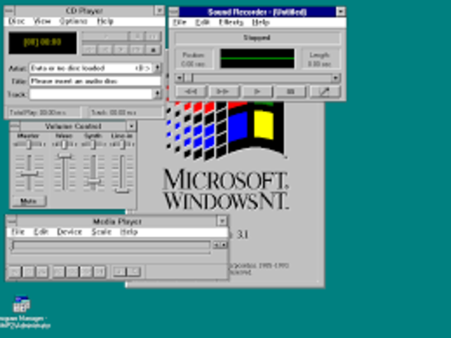 WINDOWS NT 3.1 ADVANCE SERVER