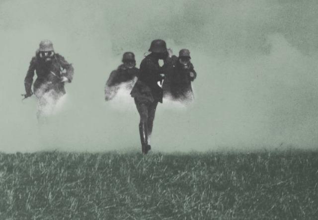 Giftgass var første verdenskrigs supervåpen