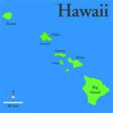 Hawaii became 50th US state