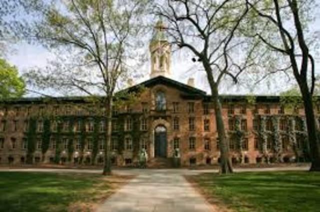Scott is Accepted to Princeton